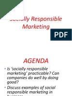 Social Responsabilt of Marketing