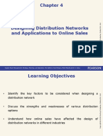 Designing Distribution Networks  and Applications to Online Sales-Supply Chain