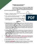 Essentia Health Sports Medicine Contract
