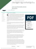 Impactos Territoriales de la globalización