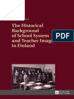 Merja Paksuniemi - The Historical Background of School System and Teacher Image in Finland-Peter Lang International Academic Publishers (2013)