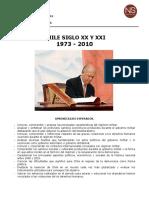16. Hist0614 Chile Siglo Xx y Xxi 1973 - 2010