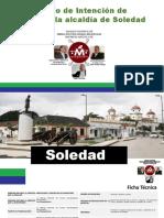 Resultados de encuesta Mosqueteros, en el municipio de Soledad