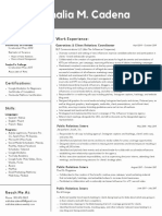 nathalia cadena creative resume