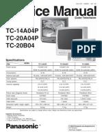 Panasonic Tc-14a04p Tc-20a04p Tc-20b04 Chassis Gp3 Sm (1)
