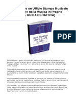 Guida Creazione Uffico Stampa Michele Maraglino