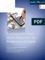 Fundamentos Legal de Contabilidad