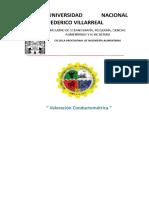 Informe Nº2 - Valoracion Conductometrica