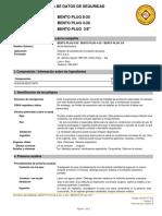 MSDS-VT-002 BENTO PLUG 4-20, 8.20 y 3.8