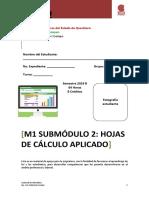 Material Hoja de Cálculo Aplicado Pl 12