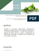 Economia Internacional, Sesion 1