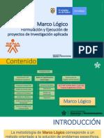 Parte 4 - Marco Lógico Formulación y Ejecución de Proyectos de Investigación.pdf