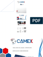 Aviso de Llegada -PDF