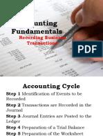 accounting cycle by ballada