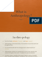 1.2.1 What is Anthropology S2019 PPT