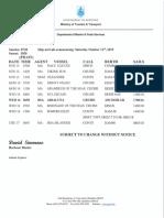 Weekly Shipping October 12 2019