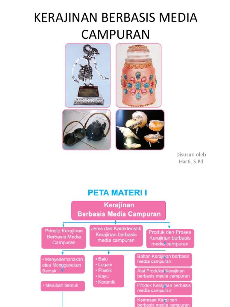 Materi Prakarya Kelas Contoh Kerajinan Berbasis Media Campuran Yang Mudah Dibuat Ilmusosial Id