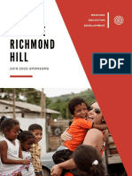 MEDLIFE Richmond Hill Sponsorship Package