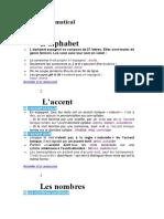 Précis Grammatical