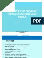Gestión de Recursos Hìdricos Con Enfoque de Cuenca