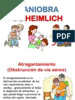 Brigadas - Atragantamiento - Heimlich