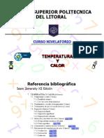 Temperatura y Calor