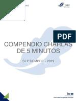 Compendio Charlas 5 Min - SEPTIEMBRE 19