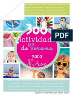 Guia de Verano 300 Actividades Para Niños by Rukkia
