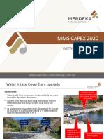 04. Water Intake Cover Dam upgrade.pptx