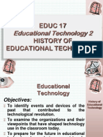 History of Educational Technology Modified 20lz5ey