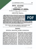 Algerus Leodiensis, Liber de Misericordia Et Justitia, MLT