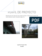 Borrador Perfil de Proyecto e.c.r.a