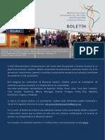 Boletín Red Latinoamericana y Del Caribe de OCTUBRE de 2019