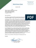 Sen. Kamala Harris' letter
