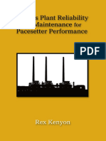 Kenyon, Rex - Process Plant Reliability and Maintenance for Pacesetter Performance-PennWell Corp (2004)