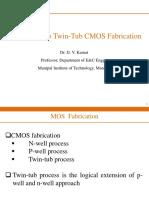 Twin-Tub CMOS Fabrication