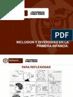 INCLUSION Y DIVERSIDAD EN LA PRIMERA INFANCIA