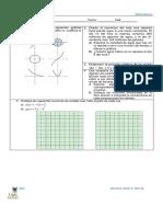 Examen Función Lineal y Recta