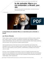 A importância de estudar o marxismo