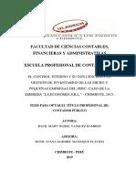 Control Interno Gestion de Inventarios y Micro y Pequenas Empresas Vasquez Ramirez Mary Isabel