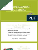 Cuantificador Universal Afirmativo