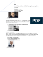Autores de Literatura Latinoamericana