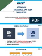 01-Kebijakan UN-USBN-UKK SMK Tahun 2020--Acara 20 Sept