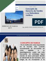 Concepto de Derecho de Familia