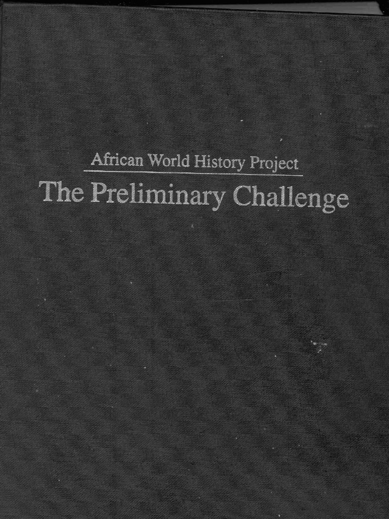 Preliminary challenge afrocentrism africa fandeluxe Images