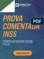Prova Comentada –Técnico Do Seguro Social – INSS 2015-2016