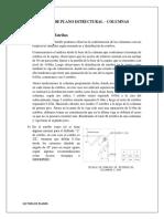 Lectura de Plano Estructural- Columnas