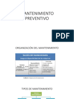 Implementacio de Plan de Mantenimiento