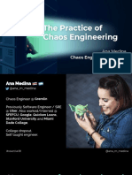 Ana Medina the Practice of Chaos Engineering