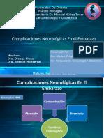 complicaciones neurológicas en el embarazo